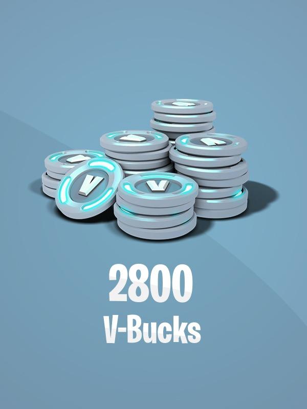 Fortnite – 2,800 V-Bucks