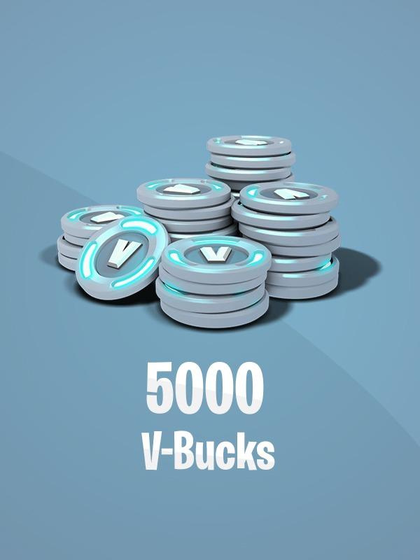 Fortnite – 5,000 V-Bucks