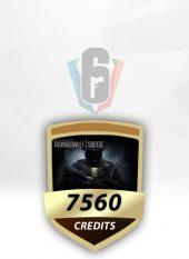 Rainbow Six 7560 Credit