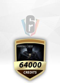 Rainbow Six 64000 CREDIT