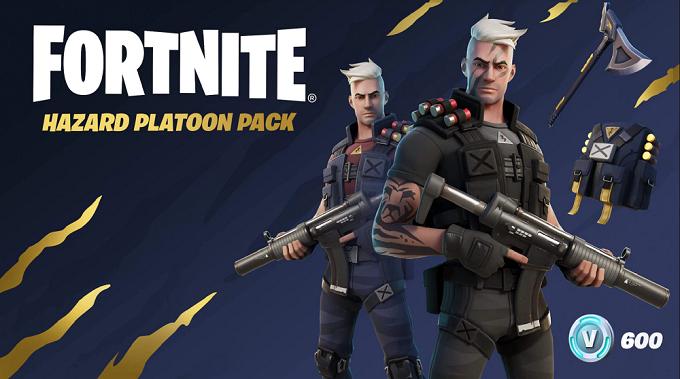 Fortnite Hzard Platoon pack