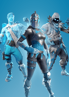 Fortnite Frozen Legends Pack