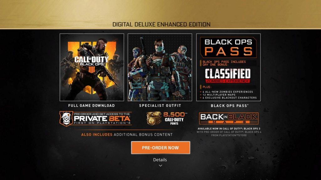 Call of Duty:black Ops 4-Digital Deluxe Edition