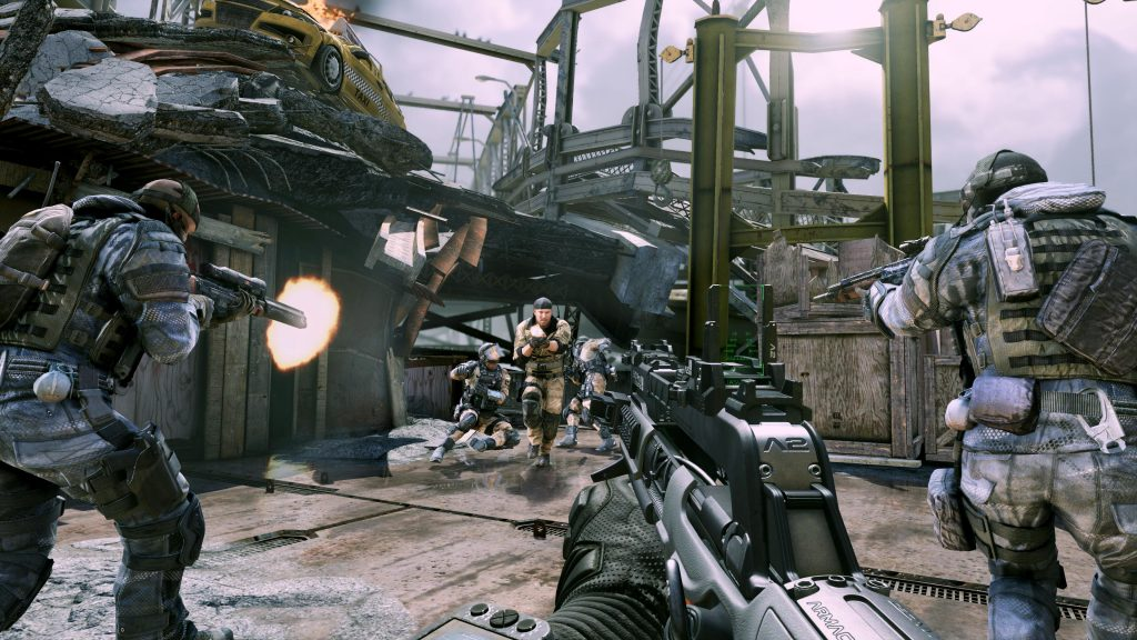 Call of Duty: Ghosts-shooting