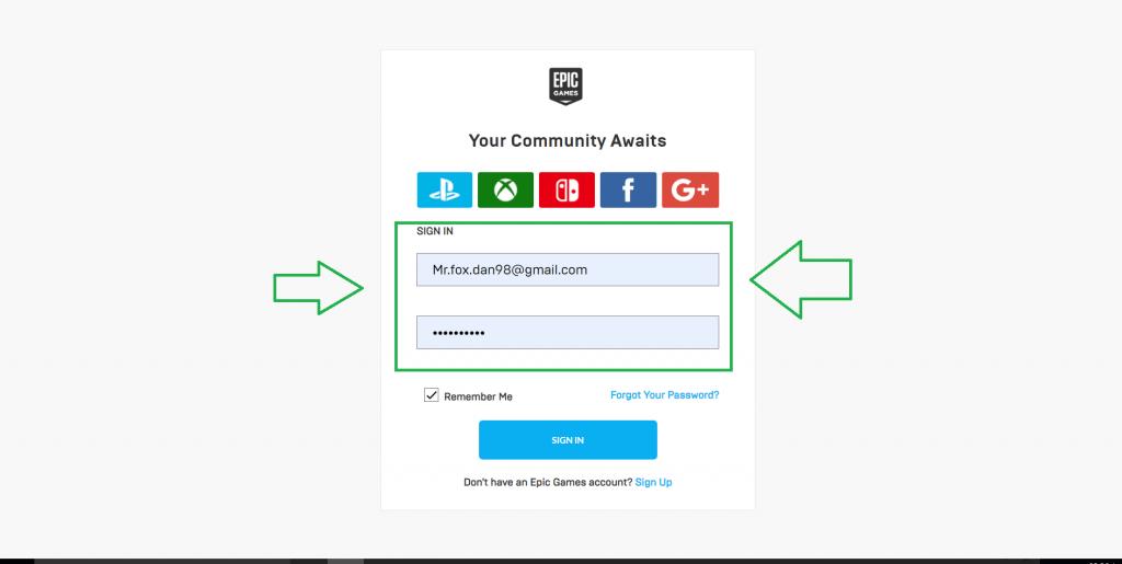 آموزش لینک کردن اکانت اپیک گیم به اکانت ps4 و xbox |اموزش