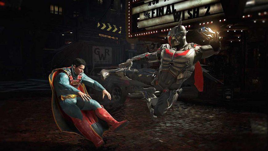خرید اکانت بازی Injustice 2