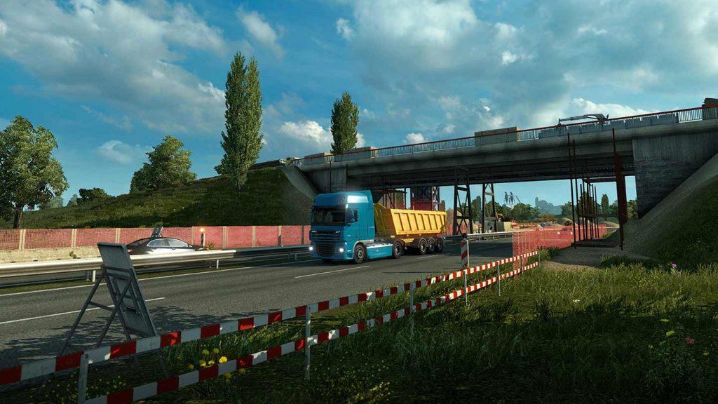 خرید سی دی کی Euro Truck Simulator 2 برای steam