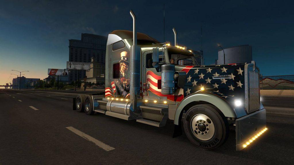 خرید بازی American Truck Simulator برای استیم