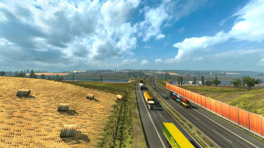 خرید بازی Euro Truck Simulator 2 برای استیم با قیمت ارزان