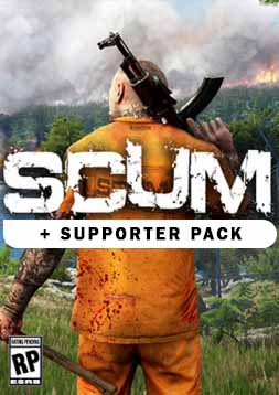 خرید باندل SCUM + SUPPORTER PACK برای استیم