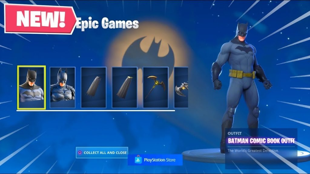 خرید Fortnite Batman Caped Crusader Pack