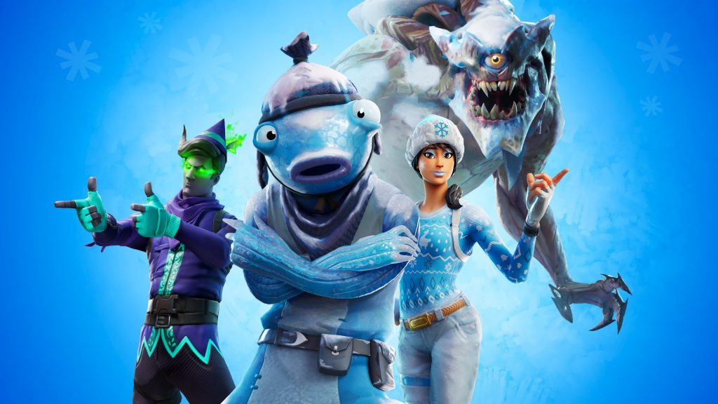 FORTNITE POLAR LEGENDS PACK