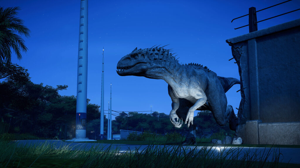 Jurassic World Evolution برای استیم
