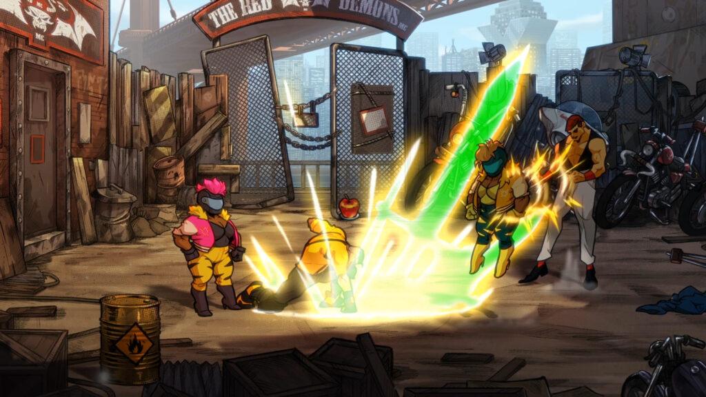 بازی Streets of Rage 4 برای استیم