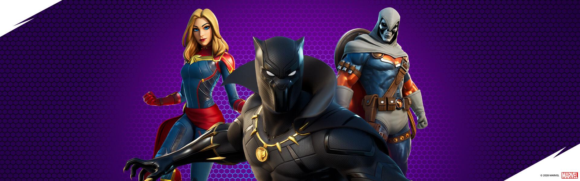 خرید پک Fortnite Marvel Royalty and Warriors Pack
